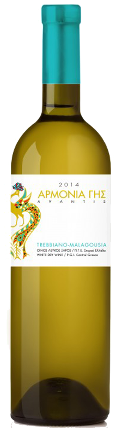 Avantis Estate - PGI Central Greece - Armonia - 2019 - Blanc
